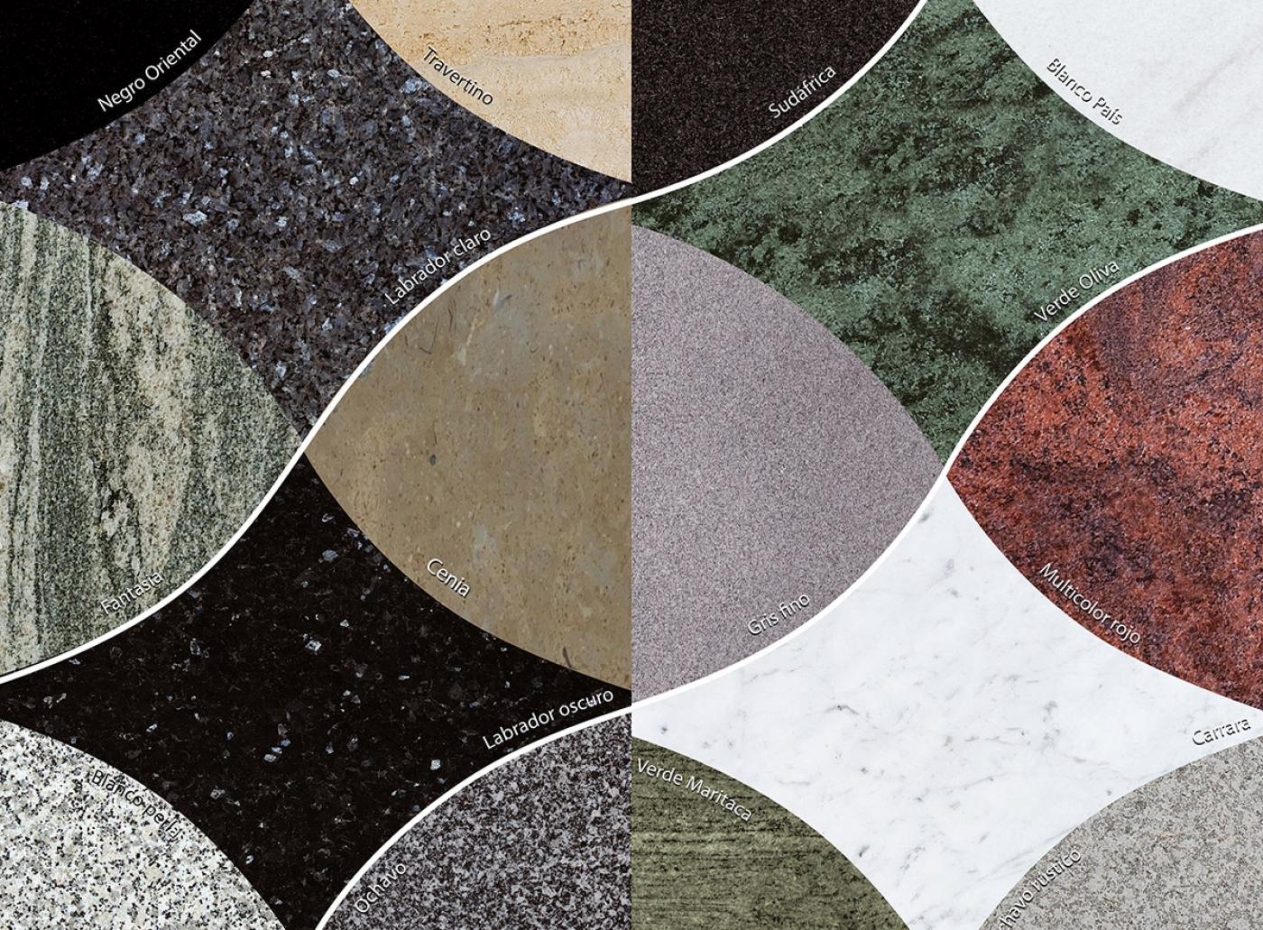 M rmoles y granitos para l pidas y tumbas funerarias for Marmol translucido de colores vivos