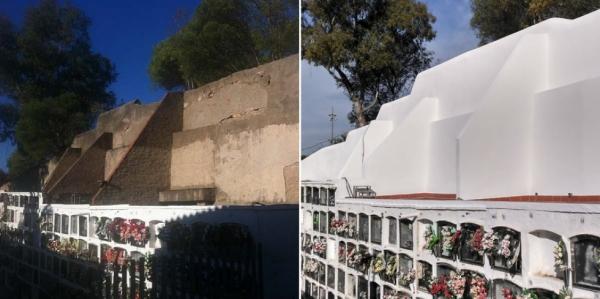 Manteniment Cementiris i restauració de tombes i panteons